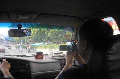 传野调查员日常工作照片